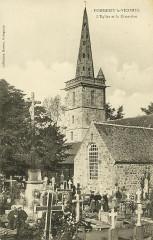 Pommerit-le-Vicomte - Eglise et cimetière - Pommerit-le-Vicomte