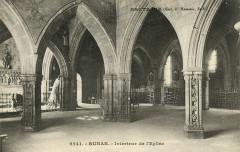 Runan - Intérieur de l'église - Runan