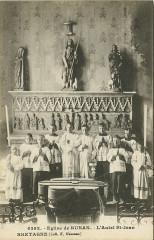 Runan - Eglise et autel Saint-Jean - Runan