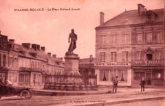 La Place Richard-Lenoir - Villers-Bocage