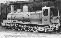 Ff 30 - Les Locomotives francaises (Nord) - Machine No 4119