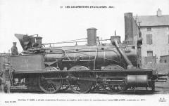 Ff 33 - Les Locomotives francaises (Est) - Machine No 0433