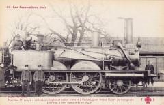Ff-Cccc 58 - Les Locomotives (Est) - Machine No 100