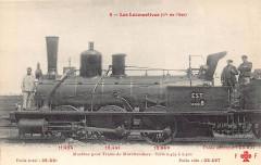 Ff-Cccc 6 - Les Locomotives (Est) - Machine No 0487