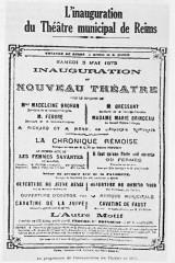 Inauguration théatre 3 mai 1873 1100319