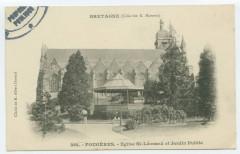 Eglise Saint-Léonard et Jardin Public - Fougères