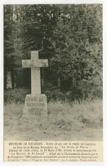 Croix située sur la route de Landéan - Landéan