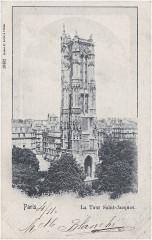 Paris — La Tour Saint-Jacques - Paris 1er