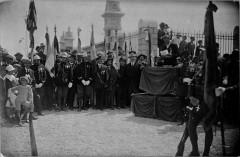 1922 parc pommery inauguration heros armée noire 10 France