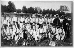 1914 terrain de manoeuvre du 132e ri 5070 France