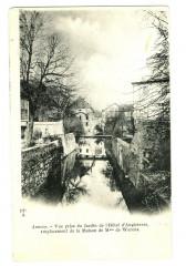 Haute-Savoie Annecy Vue prise du Jardin de l'Hôtel d'Angleterre - Annecy