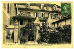 Savoie Aix-les-Bains  Pension Chabert où Lamartine écrivit Le Lac - Aix-les-Bains