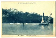 Haute-Savoie Annecy le Lac et la Tournette bateaux - Annecy