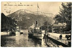 Haute-Savoie Annecy Les Bateaux du Lac animé - Annecy