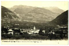 Savoie Bourg-Saint-Maurice et Route du Petit Saint-Bernard - Bourg-Saint-Maurice
