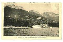 Haute-Savoie Lac d' Annecy aux abords de Menthon Saint-Bernard - Annecy