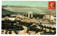 Drôme Valence Vue générale des Deux Ponts - Valence