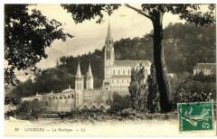 Haute-Pyrénées Lourdes la Basilique - Lourdes