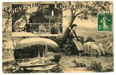 Hautes-Pyrénées Souvenir de lourdes multi-vues - Lourdes