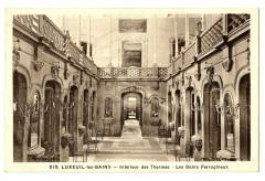 Haute-Saône Luxeuil-les-Bains  Intérieur des Thermes - Luxeuil-les-Bains