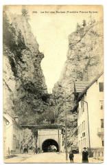Doubs Col des Roches Frontière Franco-Suisse animé - Doubs