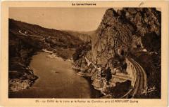 Le Défilé de la Loire et le Rocher de Cornillon pres Le Pertuiset - Roche