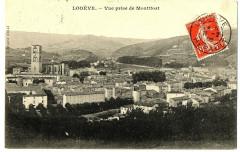 Herault  Lodève Vue prise de Montifort - Lodève