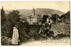 Alpes-Maritimes Environs de Nice Monastère de Laghet Route de la Corniche - Nice