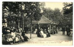 Hérault Lamalou-les-Bains La source de l' Usclade animé - Lamalou-les-Bains