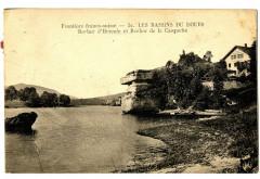 Doubs Bassins du Doubs Rocher d'Hercule et de la Casquette - Doubs