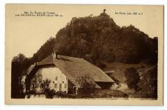 Jura Salins-les-Bains La ferme de Poupet La croix - Salins-les-Bains