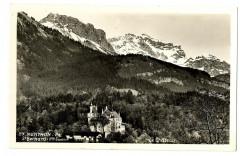 Haute-Savoie Château de Menthon Saint-Bernard carte-photo - Menthon-Saint-Bernard
