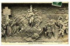 Loiret Orléans Bas relief par DubrayJeanne d'Arc sur le Bucher - Orléans
