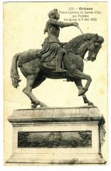 Loiret Orléans Jeanne d'Arc Statue Equestre  par Foyatier - Orléans