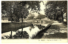Jura Dole Vue sur le Canal - Dole