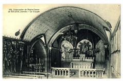 Savoie Notre-Dame de Myans La crypte - Myans