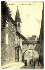Jura Dole La Rue du Collège animé - Dole