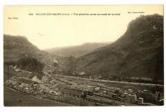 Jura Salins-les-Bains Vue générale prise au nord de la ville - Salins-les-Bains
