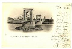 Vaucluse Avignon Pont Suspendu - Avignon