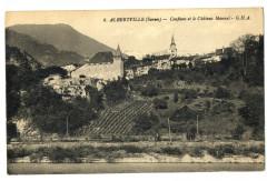 Savoie Albertville Conflans et le Château Manuel - Albertville