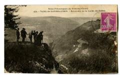 Doubs Vallée de Consolation Belvédère de la Roche du Prêtre animé - Doubs