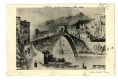 Drôme Nyons Le Pont Romain au XIIIe siècle - Nyons