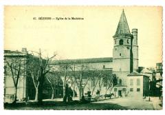 Herault Béziers Eglise de la Madeleine animé - Béziers