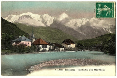 Haute-Savoie Sallanches Saint-Martin et le Mont-Blanc - Sallanches