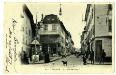 Haute-Savoie Thonon-les-Bains La Rue des Arts animé - Thonon-les-Bains
