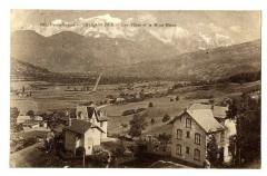 Haute-Savoie Sallanches Les Villas et le Mont-Blanc - Sallanches