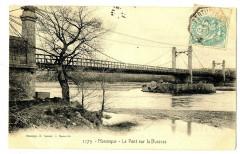 Alpes-de-Haute-Provence Manosque Le Pont sur la Durance - Manosque