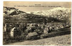 Alpes de Haute-Provence Barcelonnette Vue générale Côté Est - Barcelonnette