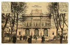 Herault Béziers Théâtre Municipal animé - Béziers