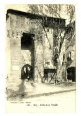 Alpes-de-Haute-Provence Riez porte de la Prévôté - Riez